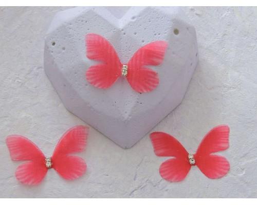 Бабочка шифоновая маленькая 3 см, №20 - 1 шт