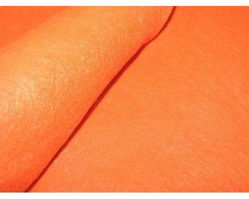 Фетр мягкий 20*30 см толщина 1 мм, цв. ярко-оранжевый - 1 лист