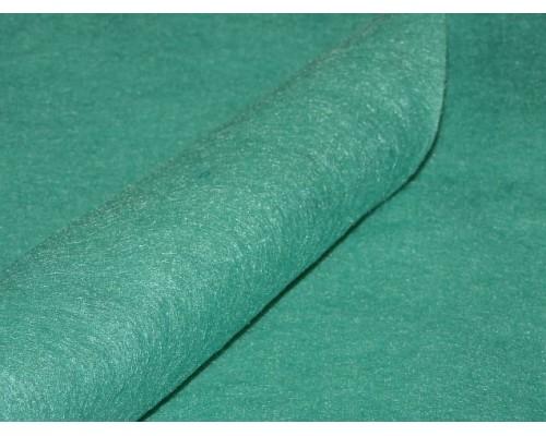 Фетр мягкий 20*30 см толщина 1 мм, цв. темно-аквамариновый - 1 лист