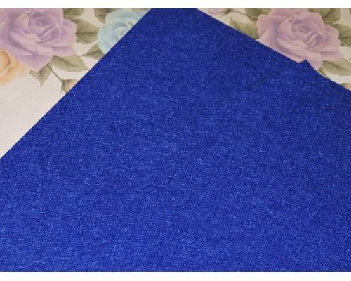 Фетр жесткий 20*30 см толщина 1 мм, цв. темно-синий - 1 лист