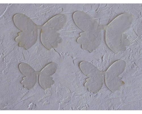 """Шаблон """"Хвостики бабочки"""" - 4 детали"""